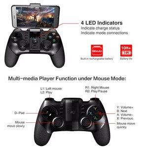 Image 2 - IPEGA 9076 غمبد وحدة تحكم بالألعاب عن بعد اللاسلكية 2.4G مقبض المقود آيفون X 8 7 plus سوني PS3 أندرويد وحدة التحكم