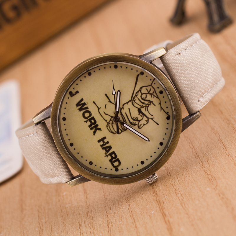 2016 Newest Jeans Strap Style Fahsion Casual Wristwatches Cowboy Brand New Watch For Men And Ladies