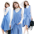 MamaLove Fashion Striped Maternity Clothes Breastfeeding Dresses for Pregnant Women Casual Nursing Clothing Maternity Dress