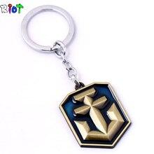 FPS игры World of Warships брелок сплава логотип брелок металлический брелки для автомобиля сумка Key Holder Для мужчин женщины ювелирные изделия llaveros подарок