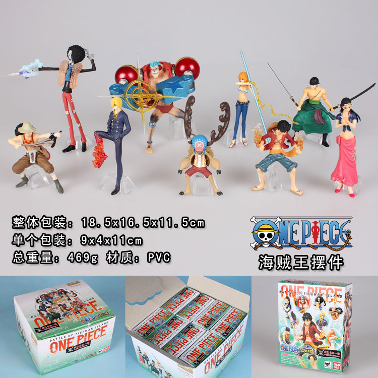 9pcs/set Franky Nami Robin Luffy Zoro Sanji Usopp Brook Chopper One Piece Anime Collectible Action Figures PVC Collection toys 9pcs set chi s sweet home cat cats figures animal decoration action figures collection model toys 3 4cm