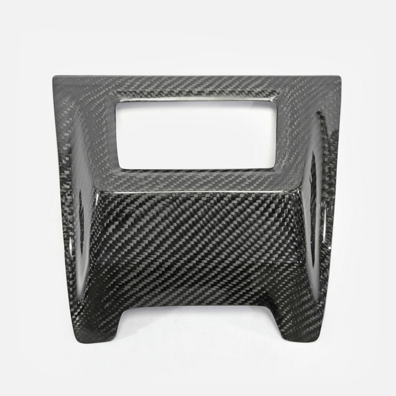 Car Accessories For 11-16 Impreza VAB VAF STI Carbon Fiber Rear Fog Light Cover Glossy Fibre Bumper Camp Trim Racing Body Kit carbon fiber dial dash cover glossy fibre finish interior accessories trim fit for nissan 350z z33 car styling