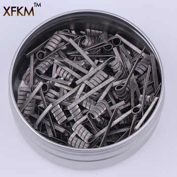 50/100 pcs High Density Pre-built NI80 A1 SS316  Premade Frameclapton Coil DIY Coil Heating alien clapton Coil Wire for rda - DISCOUNT ITEM  25% OFF All Category