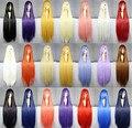 MCOSER Женщины Harajuku 100 см Длинный Прямой Парик Синтетические Волосы Высокого Качества Таможенные Партии Косплей Парики 21 Цвета