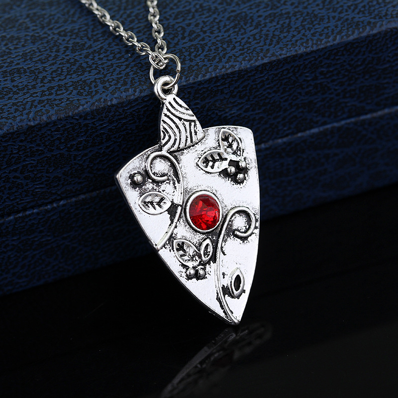 Elena Vervain Locket Necklace or Keychain Silver Color Vampire