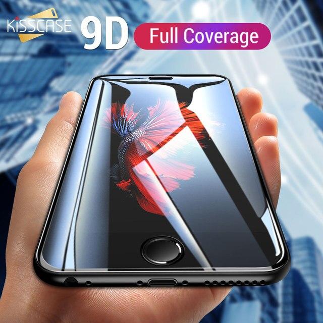 KISSCASE 9D закаленное Стекло для samsung Galaxy A5 2017 A8 A6 плюс 2018 Защитная пленка для Стекло на samsung A3 A520 A6 A8 2018