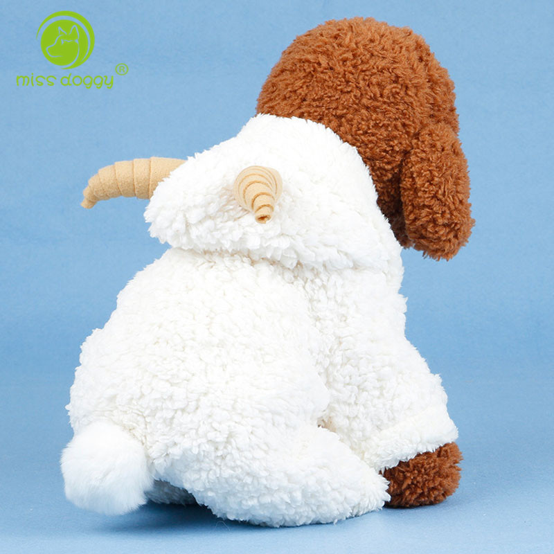 Funny Sheep Design Dog Clothes Winter Cosplay Clothing For Dog Chihuahua Yorkshire Pug Pet Costume Dog Jumpsuit 10E