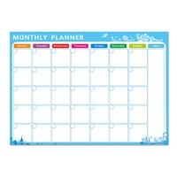 Dry Erase Monthly Magnet Calendar Set 42 29 7CM Magnetic Whiteboard For Kitchen Refrigerator Best For
