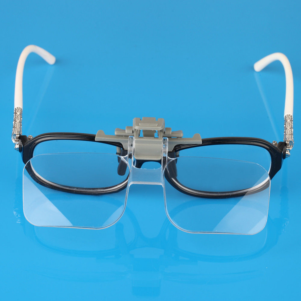 Eye Glass Clip Magnifier With 2X Magnification