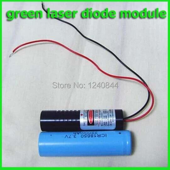 50mw 532nm Dot green laser diode module 5units/parcel