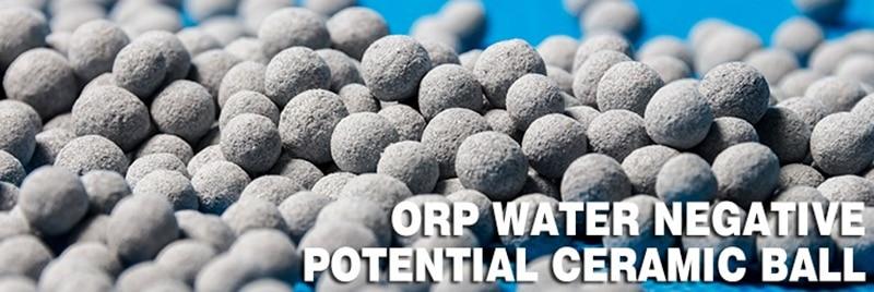 Отрицательный потенциальный ORP керамический шар уменьшает потенциал окисления-200MV делает антиоксидантную водородную активированную воду