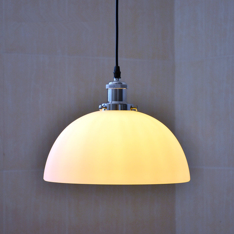 Nordic Loft Retro Industrial Style Plated Glass Chandeliers Restaurant Clothing Store Coffee Shop Simple Lamps Free Shipping
