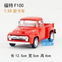 Gift For Boy 1 38 12 5cm Kinsmart Cool 1956 Ford F100 Car Vehicle Alloy Model