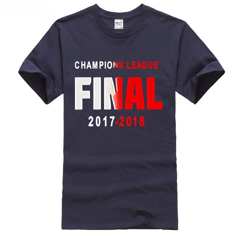 cup 2018 season europe champios league footballer Madrid and liverpool ronaldo 7 salah 11 t shirt club