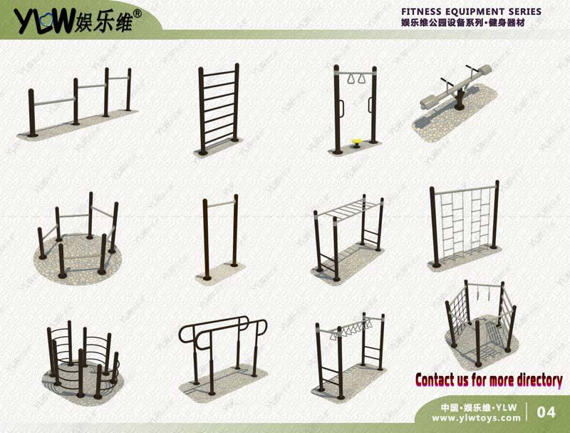 YLW-jians04 amusement park equipment body building gym equipment,fitness outdoor exercise equipment тройной стеклодомкрат santool 032533