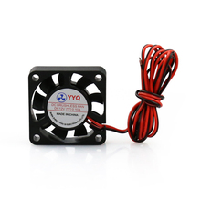 5 pcs Cooling/Radiator Fan 3D Printer Parts 40*40mm DC 12V 0.1A Fan For MakerBot RepRap Printer 4010 Fan 3D Printer Accessories