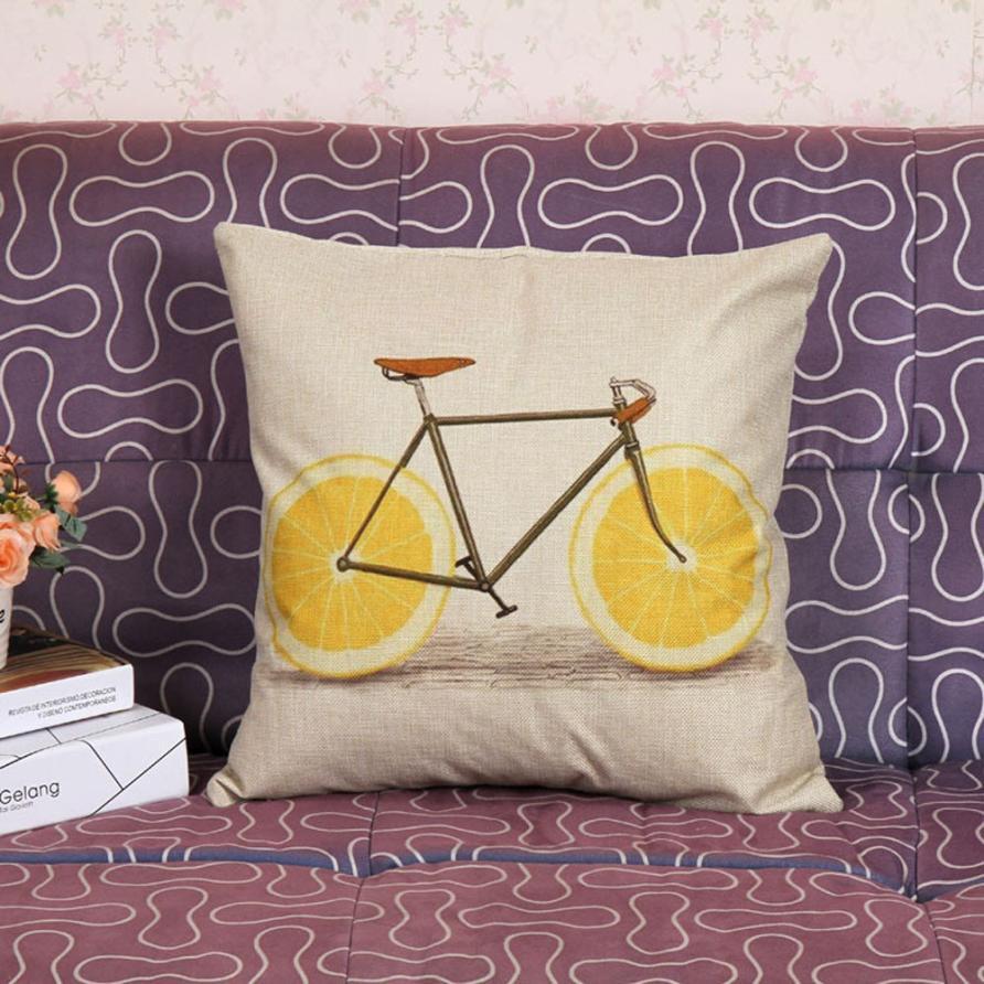 2016 Taotown Best Selling Pillowcase 45cm*45cm New Design Fashion Fruit Bed Home Textile Pillow Case Cushion Pillow Cover-in Pillow Case from Home \u0026 Garden ... & 2016 Taotown Best Selling Pillowcase 45cm*45cm New Design Fashion ... pillowsntoast.com