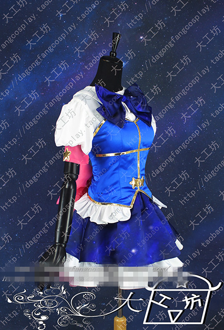 Kaname Madoka Uniforms From Puella Magi Madoka Magica Constellation SSR Card Lolita Dress Cosplay Costume Custom Made Free Shipp