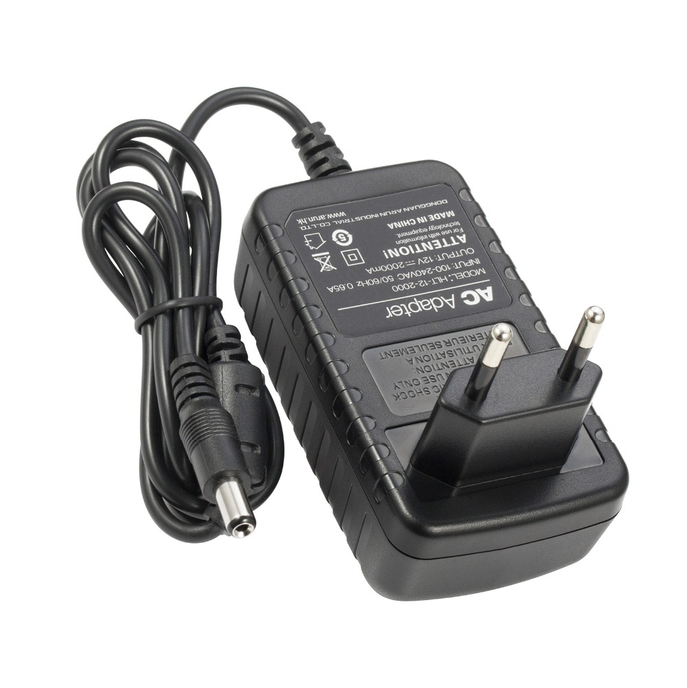 FUERS 12V2A EU UK US AU Plug Charger For 4MP Camera Security DVR Kit AC Adapter Power Supply For Camera