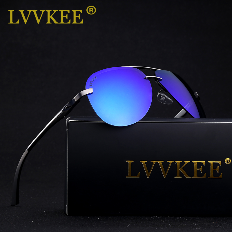 LVVKEE Brand Male HD Polarized Driver Mirror sunglasses Men/Women - Apparel Accessories - Photo 2