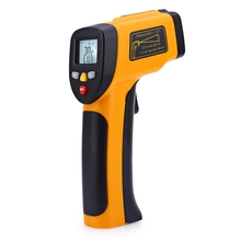 Buy online HT – 812 LCD Display Infrared Thermometer Temperature Sensor Outdoor Indoor Digital Portable Temperature Measuring Instruments