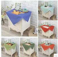Fantasy Animal Pattern Home Decor Bedside Table Dust Cover Cotton Cloth Can Clean Tablecloth Tablecloth Small