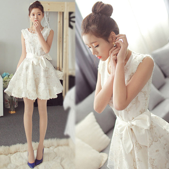 2018 girl summer clothes white princess kids girls lace dresses teenage 12 14 16 years old robe fille girl dress girl
