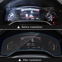BBQ FUKA Car Dashboard Screen Protector Clear Center Touch HD Film For Honda CRV 17 18