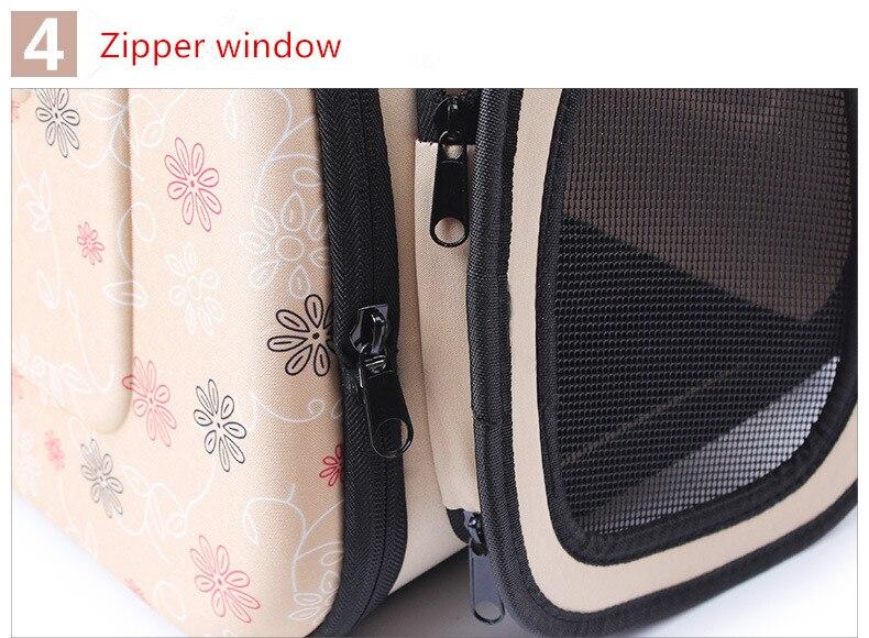 Outdoor Dog Carrier Backpack Saddle Bag 10