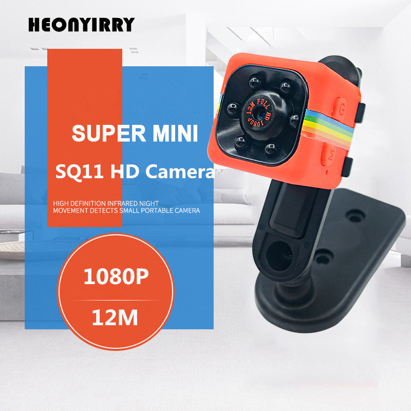 Mini Camera SQ11 SQ8 1080P Full HD Sports Micro Cam Motion Detection Camcorder Infrared Night Vision Video Recorder Wide Angle newest ir cut camera 1080p mini full hd camera micro infrared night vision cam motion detection dv spied cameras
