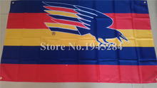 AFL Adelaide Crows Flag  New 3x5ft 90x150cm Polyester Flag Banner 90002,  free shipping