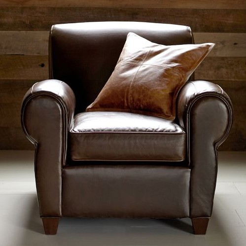 Factory Outlet Vinyl Detachable Single Clic American Leather Sofa Wild Brown Mix