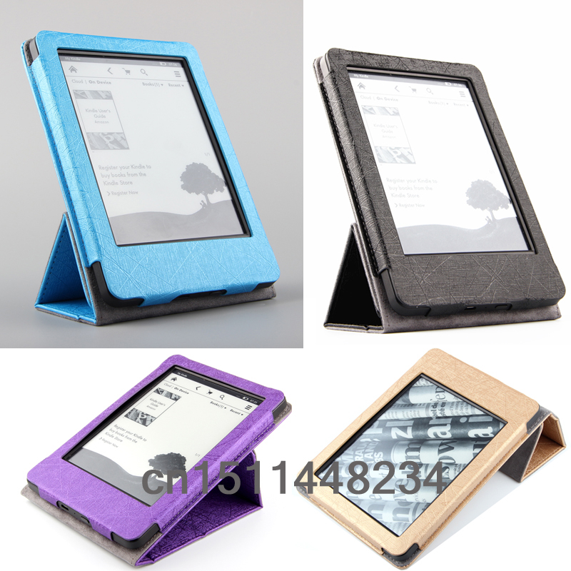 Luxury fashion cover case for Amazon 2014 new kindle for Amazon kindle paperwhite 1&2 kindle 5/4/2 kindle touch E-book cover 2018 new e book case for kindle paperwhite protective cover for amazon kindle paperwhite 3 2 1 pu leather protector sleeve 6