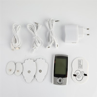 LCD Screen Pulse Electrical Stimulator Full Body Relax Muscle Therapy Massager Screen Pulse Tens Acupuncture Massager