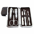7 PCS/Set Pedicure/Manicure Nail Clippers Cleaner Cuticle Kit For Nail Care