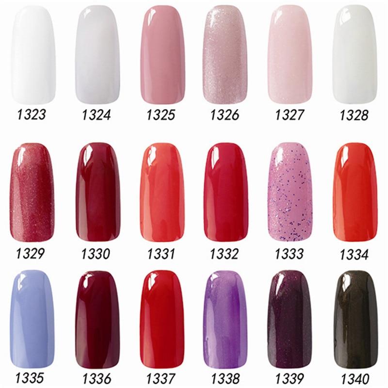 Different Colors Of Paint: Nail Polish Change Color Nail Gelishgel Acrylic Paint