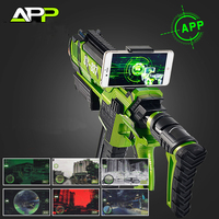 APP Smart Toy Gun Water Bullet Submachine Gun Kids Adults Toys 3D Virtual Reality Phone Outdoor Live CS Cosplay Games Weapon Toy