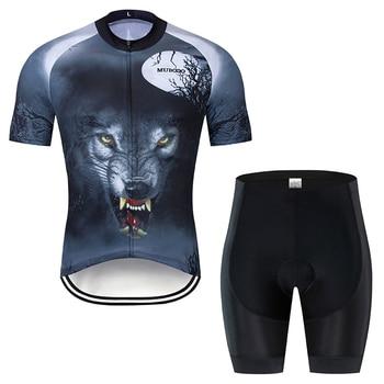 Conjunto de jerseys de ciclismo nuevo 2019 ropa de ciclismo para hombre...