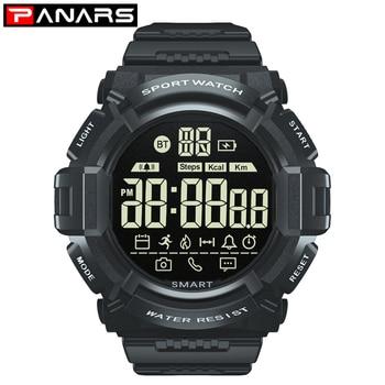 PANARS smart watch men waterproof android Womens watches bluetooth Digital Watch Women Smartwatch for Apple Iphone IOS watches