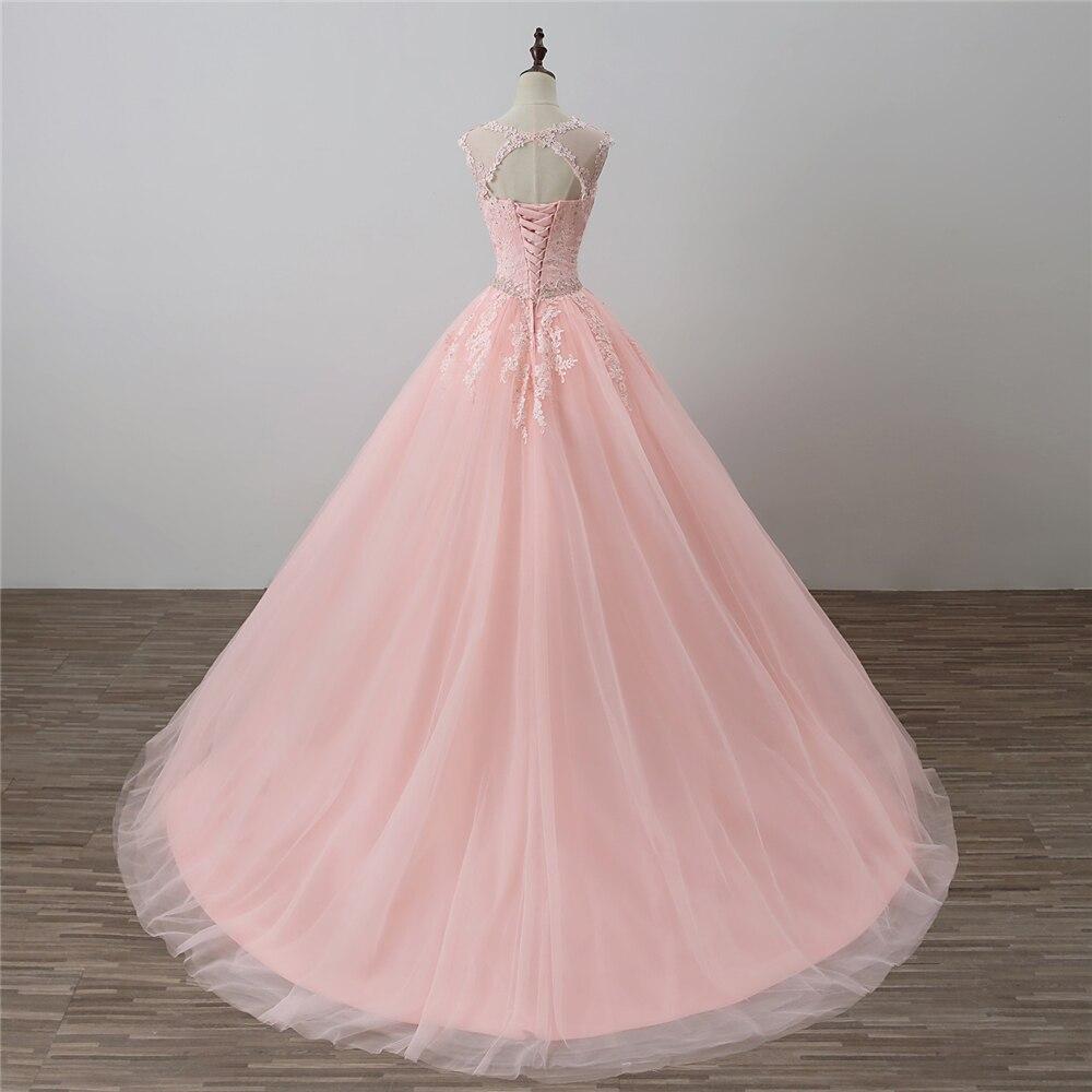Bealegantom Nowe sukienki Quinceanera Scoop 2018 Suknia balowa z - Suknie specjalne okazje - Zdjęcie 5