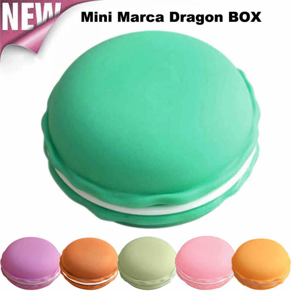 Earphone Accessories Mini Earphone SD Card Macarons Bag Storage Box Case Carrying Pouch Dropshipping 2018