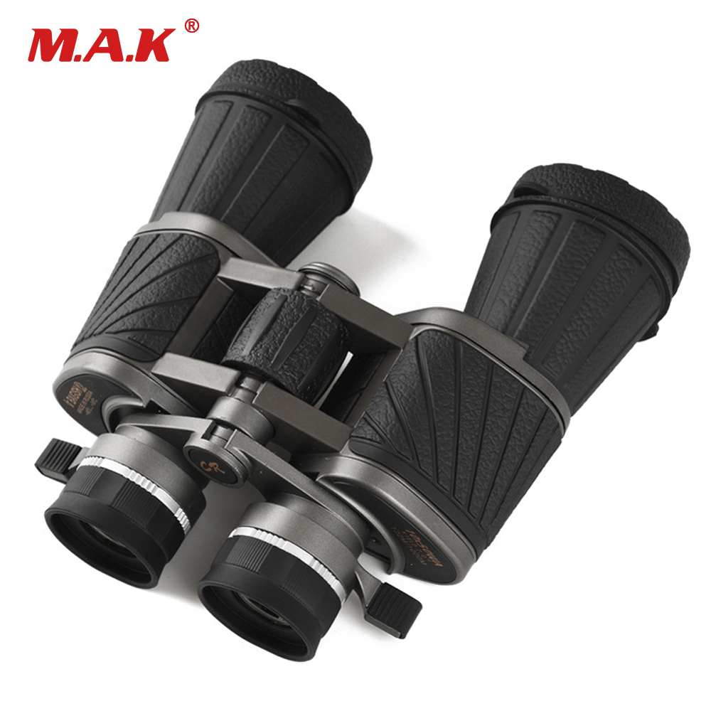 Binoculars 10x50 Military Wide-angle Central Zoom Telescope Powerful Bak4 Binocular Professional For Hunting Camping Telescopio 1pc 10x50 trumpet soldiers zoom binoculos telescope binoculars telescopio monocular binoculo luneta binocular prismaticos a1995
