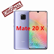HUAWEI Mate 20 X Smartphone 7.2 ''Tam Ekran 2244x1080 Kirin 980 octa çekirdek EMUI 9.0 5000 mAh 4 * kamera Hızlı Şarj 4.5 V/5A 2...