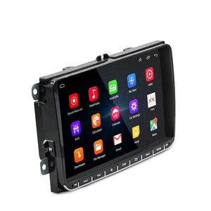 Image 4 - Panlelo 안드로이드 2Din 멀티미디어 플레이어 Autoradio 2 딘 GPS 네비게이션 블루투스 Radi 자동차 스테레오 9 인치 터치 스크린 미러 링크