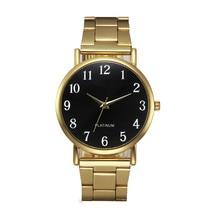 2017 NEW  Fashion Women Crystal Stainless Steel Analog Quartz Wrist Watch Bracelet kol saati dropping #07