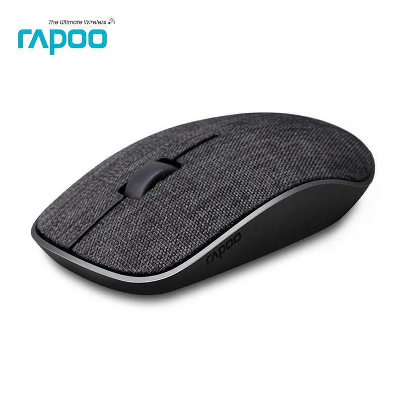 Rapoo 3500pro سليم المحمولة ماوس لاسلكي ضوئي الألعاب الفئران مع غطاء نسيج ناعم و محرك غير مرئية للكمبيوتر المحمول الكمبيوتر