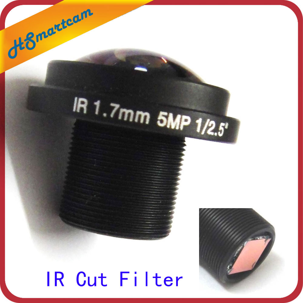 HD 5mp Fisheye 1.7mm cctv Lens Wide Angle 1/2.5 M12 IR Board 850nm 940nm 650nm IR Board M12 IR Cut Filter FPV hd 5mp fisheye 1 7mm cctv lens 185 degrees wide angle 1 2 5 m12 ir board for security ip camera