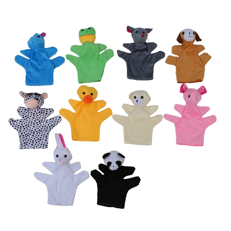 10 pcs. Hand finger puppet set