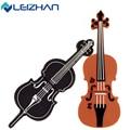 LEIZHAN USB Flash Drive  64G 32G 16G 8G 4G Musical Instrument U Stick Pendrive USB 2.0 Cello Pen drive Violin Memory Flash Drive