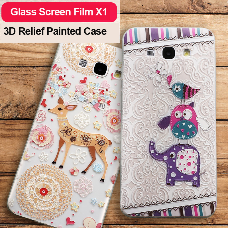 For Galaxy A8 A8000 Case Vpower 3d Cartoon Back Soft Cover House For Samsung Galaxy A8